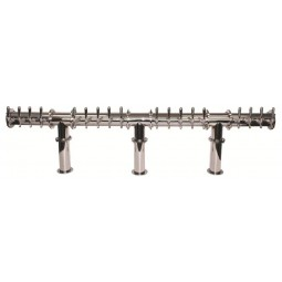 Behemoth tower 24 faucet polished SS