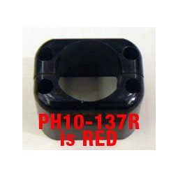 Handle heel, red, 10B, Series II & 2.5