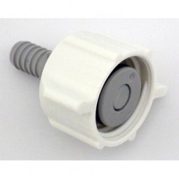 BIB connector 3/8 white