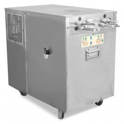 Horeca remote 4-line flash chiller with built-in carbonator, ETL and ETLS approved