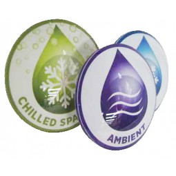 "Medallion 82 mm ""CHILLED SPARKLING"" water"