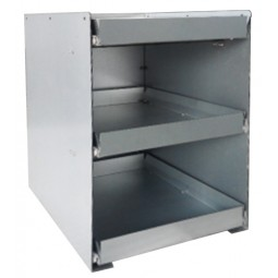 BIB drawer tower, three 5-gal BIB capacity