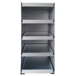 BIB drawer tower, five 5-gal BIB capacity