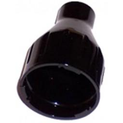 Nozzle, black, twist lock