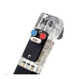1 button gun, premix fast flow