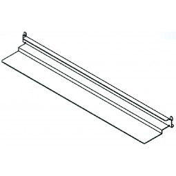 Stainless steel bottom support combination pan slides (1 set)