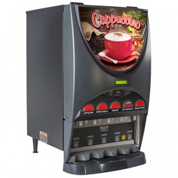 iMIX-5 with hot water dispense and 5 hoppers
