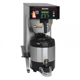 Infusion Series BrewWISE DBC dual voltage low profile coffee brewer