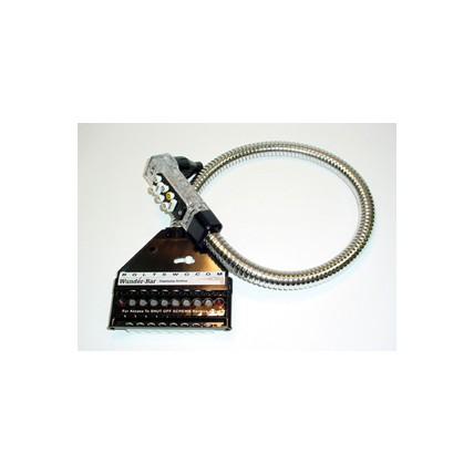 "Bar gun Mark 4 8-button postmix 6C/0NC black 36"" large soda/water tubing"