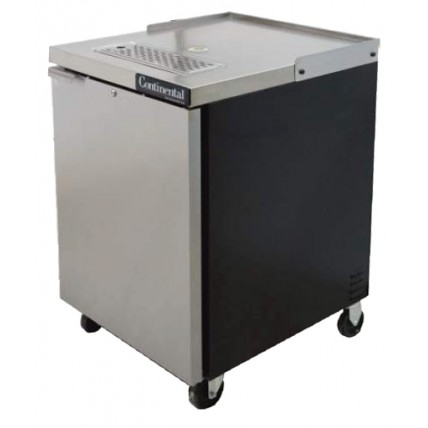 "1 Keg direct draw cooler (no tower) SS door 24""W"