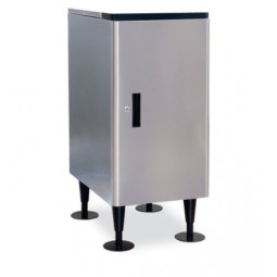 "Ice dispenser stand, doors standard, 16.5W x 24D x 32.5""H"