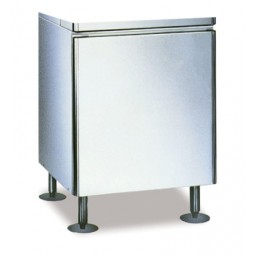 "Ice dispenser stand, no doors, 26.3W x 22D x 32.5""H"