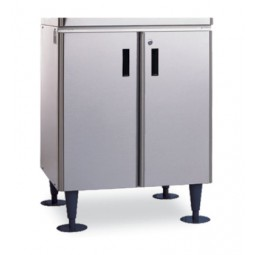 "Ice dispenser stand, doors standard, 25.9W x 22D x 32.8""H"