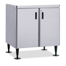 "Ice dispenser stand, doors standard, 34W x 28D x 32.8""H"
