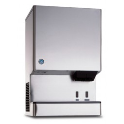 Ice machine/dispenser, cubelet, 321 lbs ice/day, 40 lbs ice storage