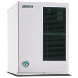 Hoshizaki ice machine, slim-line modular crescent cuber, 435 lbs ice/day