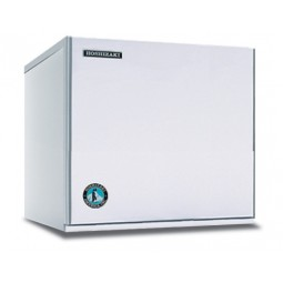 "Hoshizaki ice machine, 22"" modular crescent cuber mounts on dispenser, 415 lbs ice/day"