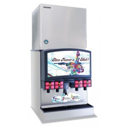 Hoshizaki ice machine for FS30 dispenser, crescent, 876 lbs ice/day