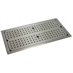 "Underbar SS drop-in drain pan 18"" x 42"""