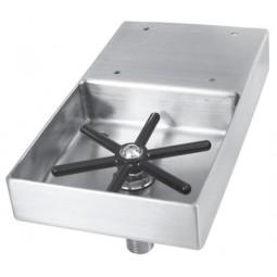 Undercounter mount rinser faucet