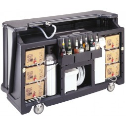 CamBar portable bar designer décor, complete post-mix system 220V