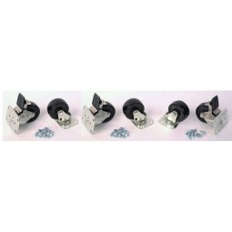 "4"" casters set of six"