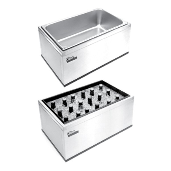 Portable Countertop Ice Bin 22 W X 14 D X 10 H Apex