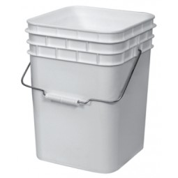 Bucket for bottle disintegration system, 4 gallon