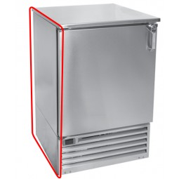 Left side stainless steel *must be ordered with cooler, not sold separately