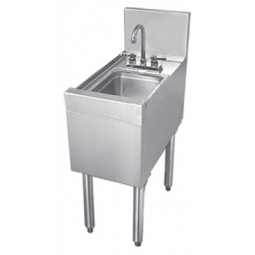 "Underbar SS wet waste sink 12""W x 24""D"