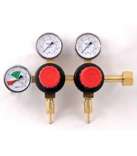 Regulator, tank mount, 2 pressure 2 product management system