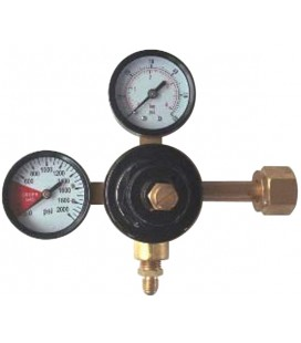 Econ tank mount CO2 regulator, 1P1P, 300# 2000#