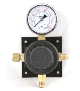 Sec reg body assembly for 100# gauge, black cap