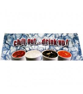 "General beverage front panel graphics for 25"" IBD"