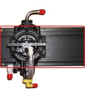 "Pump board, 5"" x 15"", 2 pump glide"