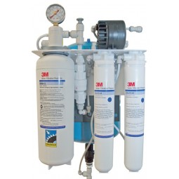 3M/Cuno SGLP200-CL-BP reverse osmosis system with bypass, 200 gpd (757 lpd) capacity