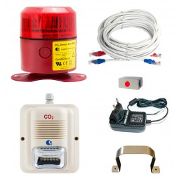 MK10 complete CO2 detection/alarm system - Must be CO2 certified to install LogiCO2 alarms