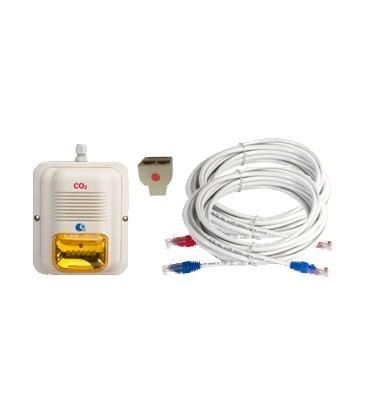 Amber horn/strobe LED expansion kit for MK9 or MK10 system