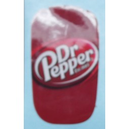 Flomatic label Dr. Pepper