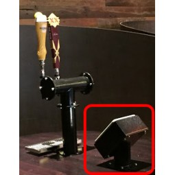 PourMyBeer custom rotating mount for table top