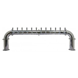 Lions Gate tower 12 faucet polished SS (faucets and handles sold separately)