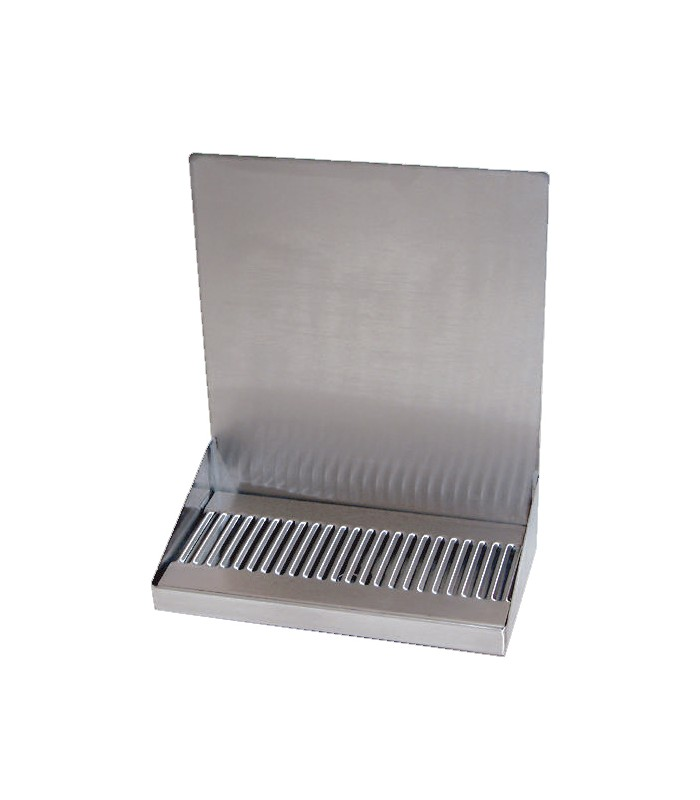 Stainless Steel Wall Mounted Drip Tray With Drain No