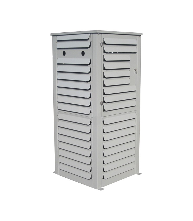CO2 tank outside storage cabinet - APEX
