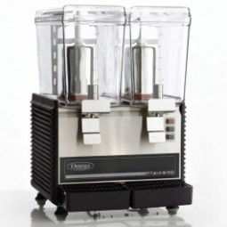 Omega visual cold drink dispenser, dual bowl