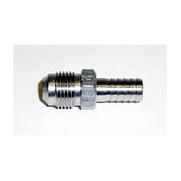 Adapter 1/2 barb x 1/4 MFL SS
