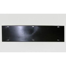 Blank graphics mounting panel