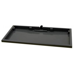 "Drip tray, 23"" 1 piece, center drain soft plb"