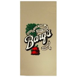 FS valve label, Barq's Root Beer 2x4