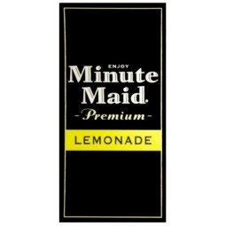FS valve label, Minute Maid Lemonade 2x4