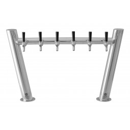 Double Zenith tower 6 faucet